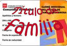 Preguntas frecuentes título familias numerosas